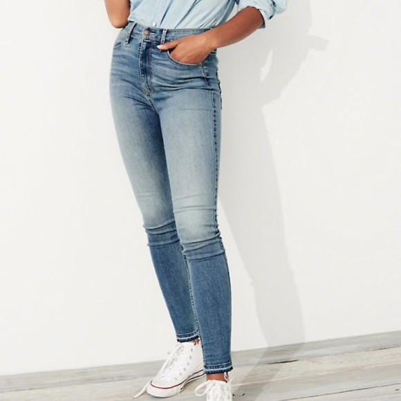 192712280a8 Hollister Jeans   Ultra High Rise Super Skinny   Poshmark